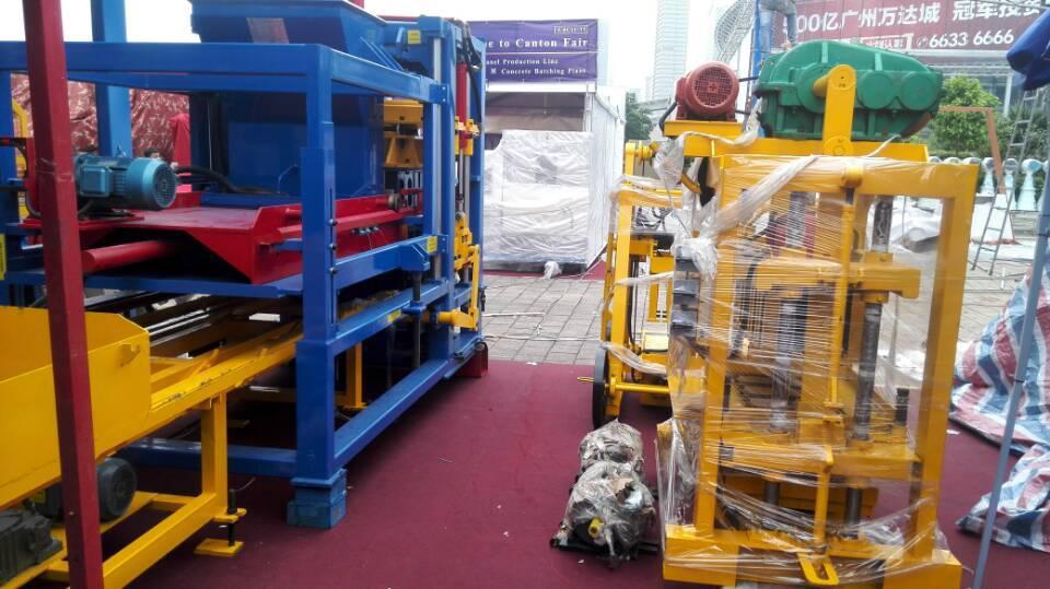 ZCJK 4-40 Manual Máquina del bloque en la Feria de Cantón