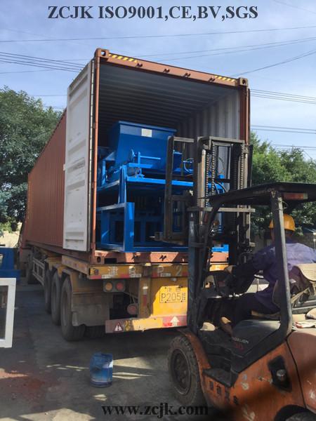 Máquina del bloque de Nigeria ZCJK 4-20A (1)