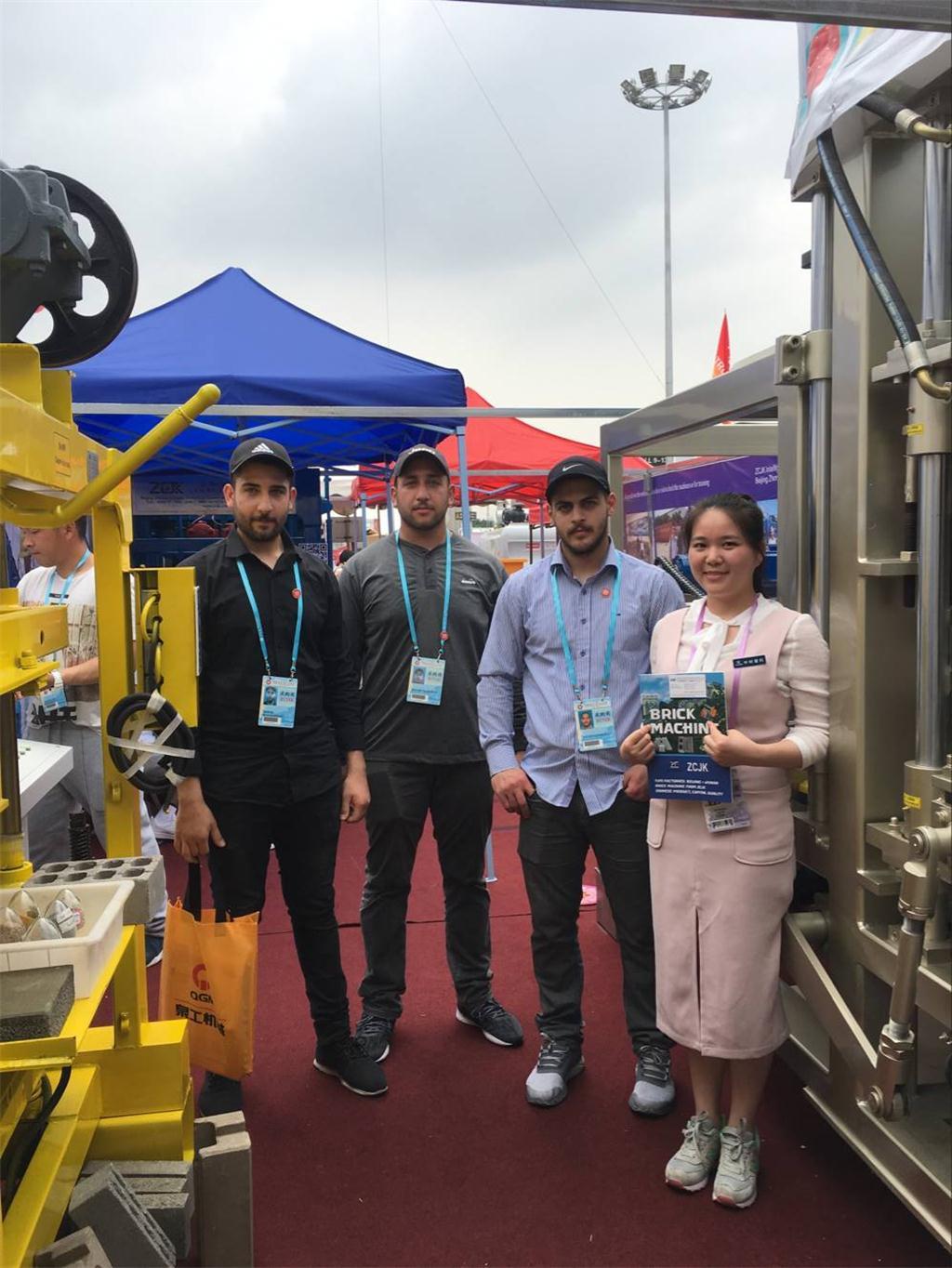 3rd day of Canton Fair-ZCJK Machine booth (9).jpg