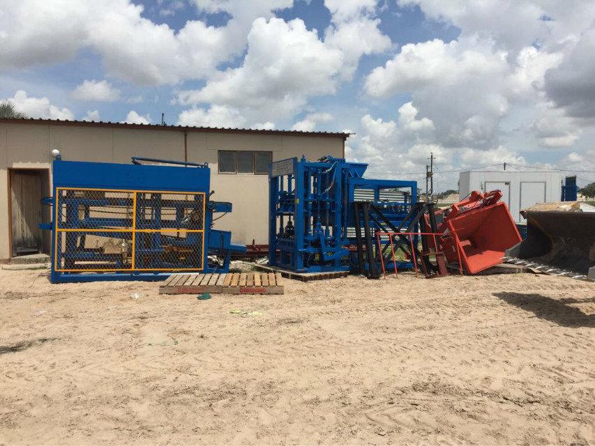 máquina del bloque del 纳米比亚 QTY6-15 en Namibia (8)