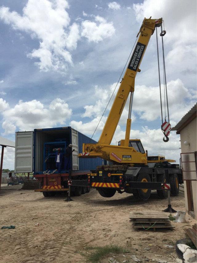 máquina del bloque del 纳米比亚 QTY6-15 en Namibia (10)